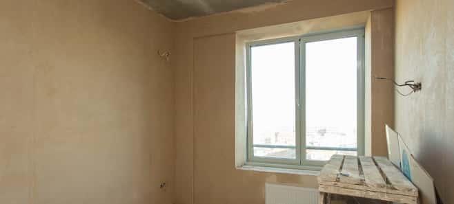 Штукатурка стен и стяжка пола в квартире 72 м²